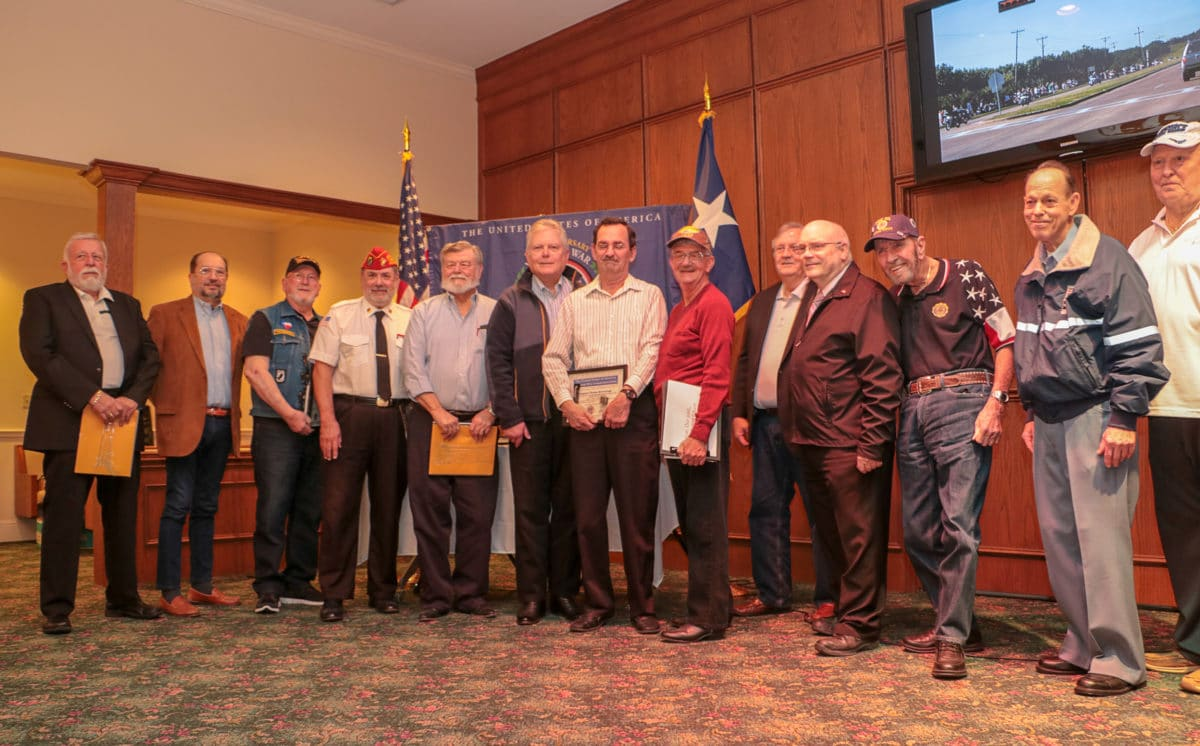 Vietnam Veterans Honored at 2018 Annual Meeting